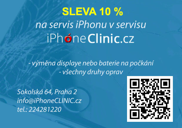 Sleva na servis iphone ipad macbook 10 %